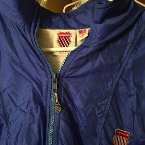 Size m vintage K-Swiss windbreaker jacket hip